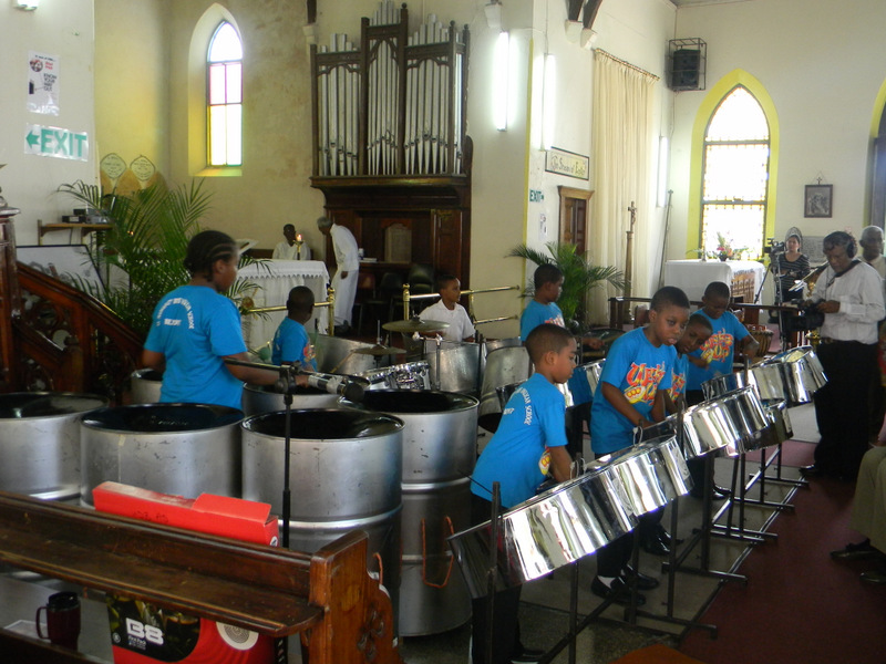 Celebratory Service for St. Margaret Boys Steel Orchestra